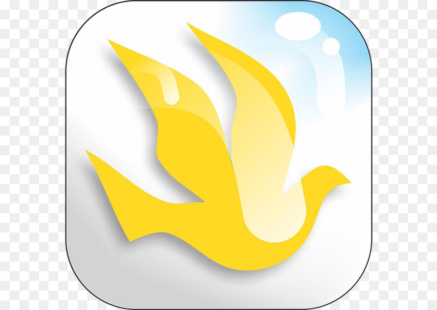 Holy Spirit, Spiritual Gift, Meekness, Yellow, Line PNG