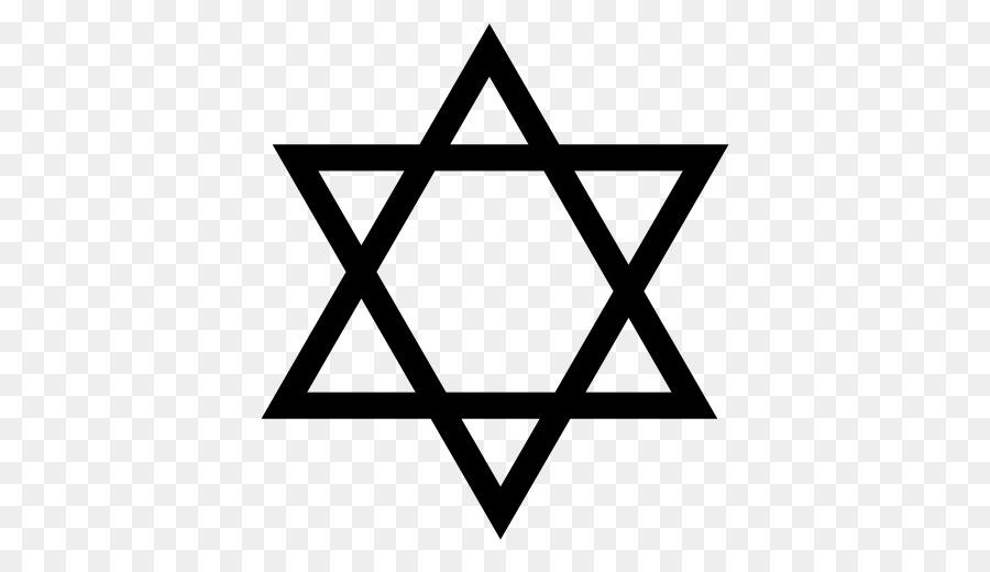 La estrella de David, Judaísmo, Judío simbolismo - El judaísmo png ...