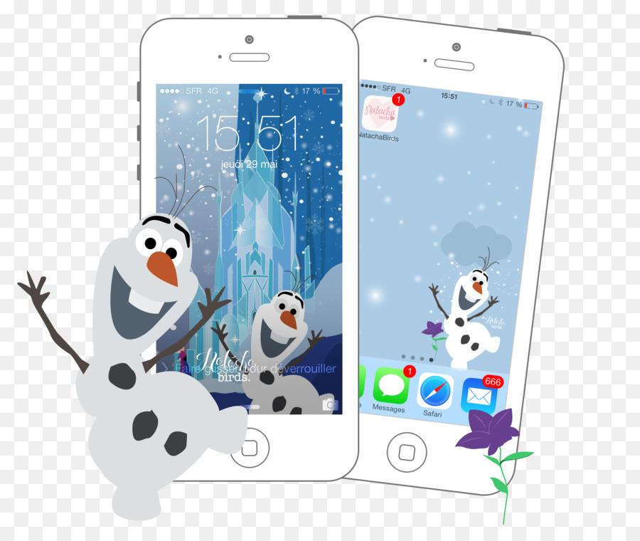 Desktop Wallpaper Olaf Snowman Smartphone