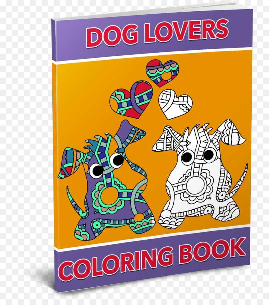 Köpek Boyama Kitabı Oyunu Kalp Köpek Aşığı Png Indir 7951003