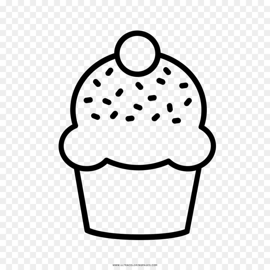 Boyama Kitabı Cupcake çizim Hamur Kek Png Indir 10001000