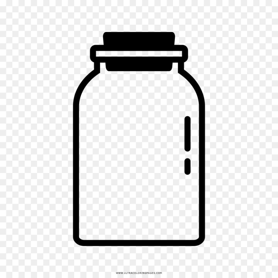 Su şişeleri Cam Boyama Kitabı çizim şişe Png Indir 10001000