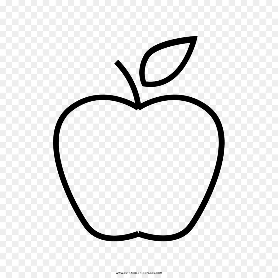 çizim Boyama Kitabı Elma Küçük Resim Elma Png Indir 10001000