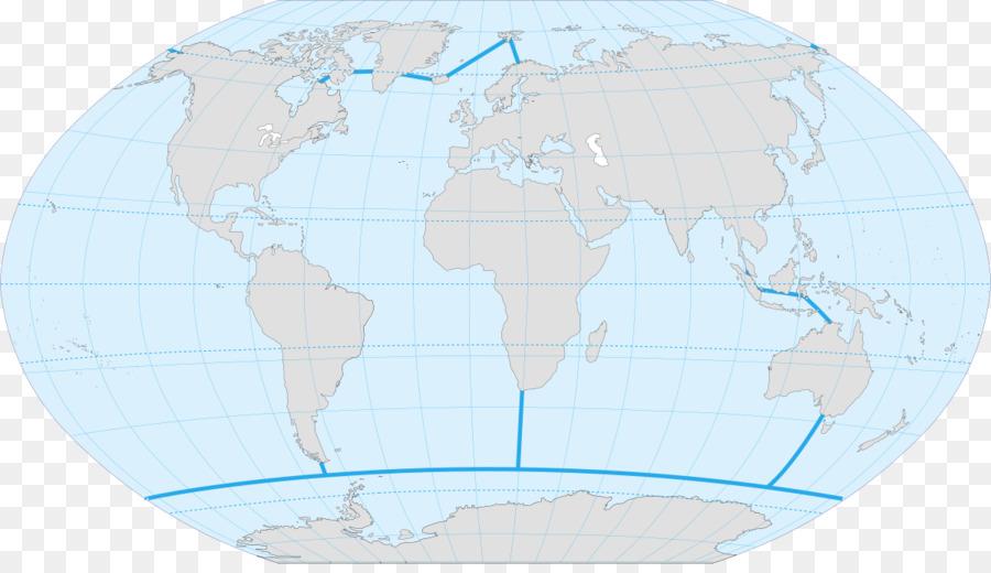 World map Globe Pacific Ocean Atlantic Ocean - world map png ...