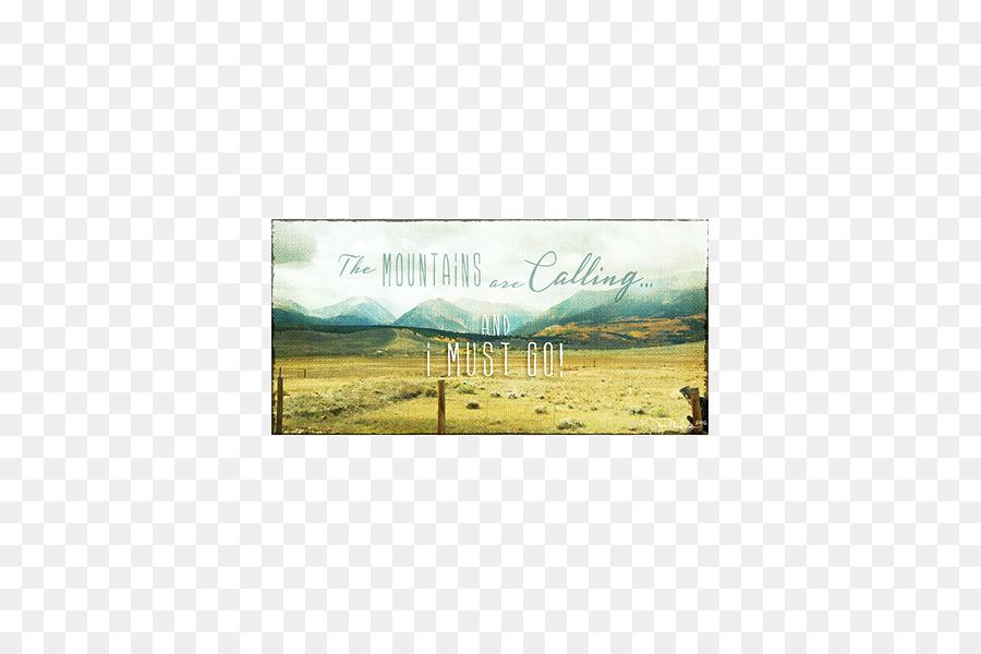 Ecoregion Landscape Prairie Land lot Picture Frames - canvas texture ...