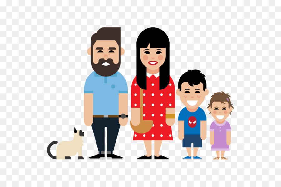 Pohon Pohon Besar Lodge Perawatan Anak Keluarga Ilustrasi Keluarga