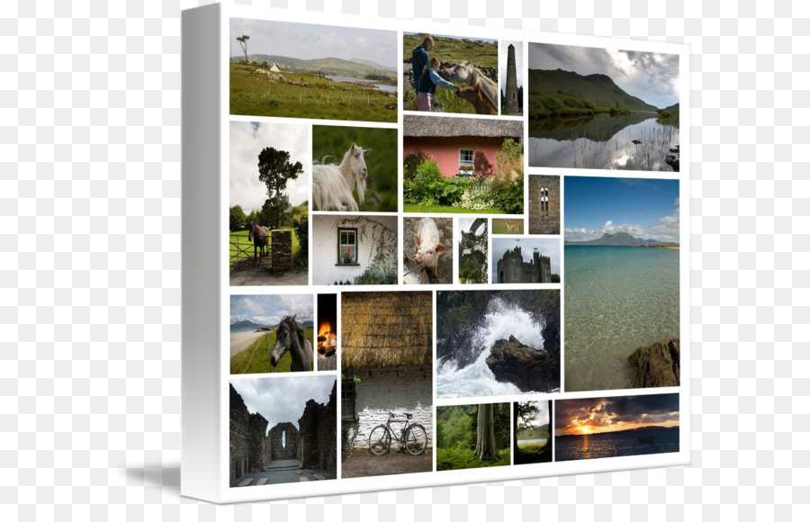 Ireland Window Picture Frames Collage Tourism - Banner collage ...