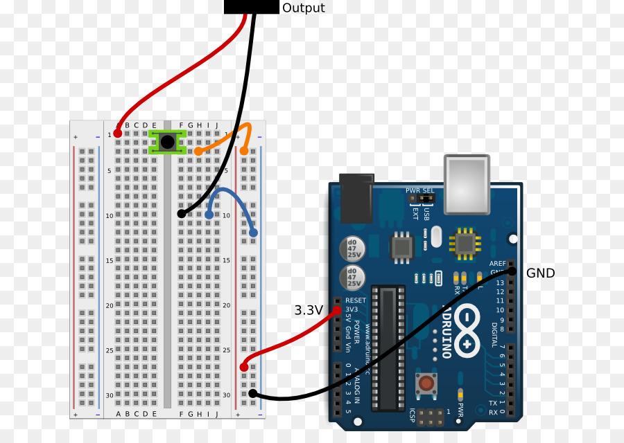Breadboard Electronics Arduino Circuit Diagram Electronic Circuit
