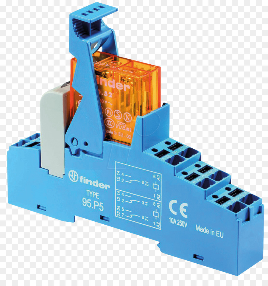 High voltage interface relays DIN rail Finder Jmenovité