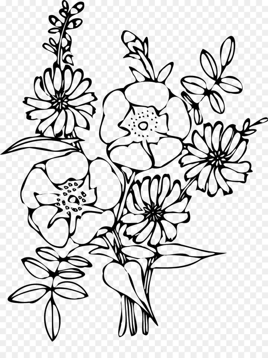 Floral design flower bouquet coloring book clip art flower png floral design flower bouquet coloring book clip art flower izmirmasajfo
