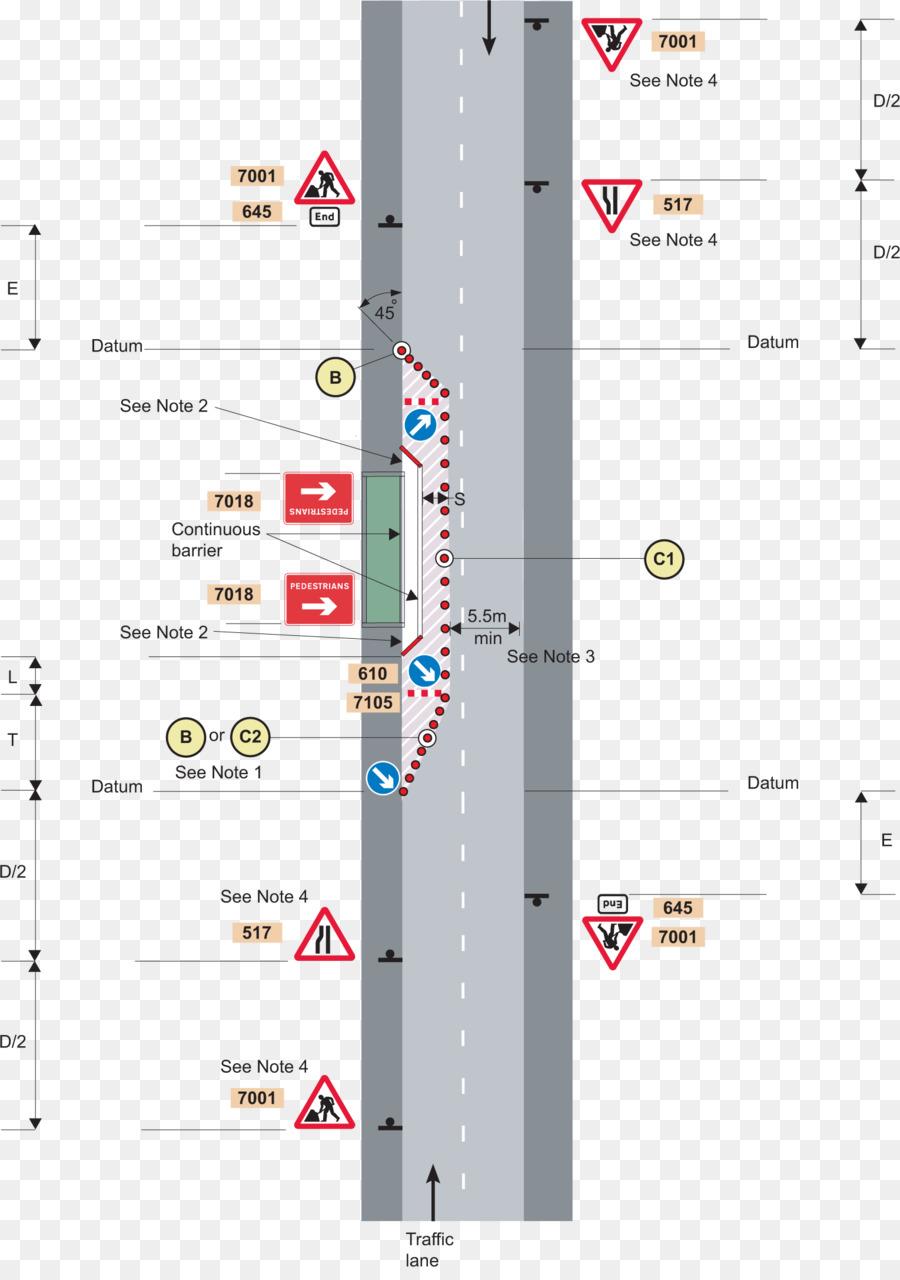 Baustellen Verkehrszeichen Traffic Management