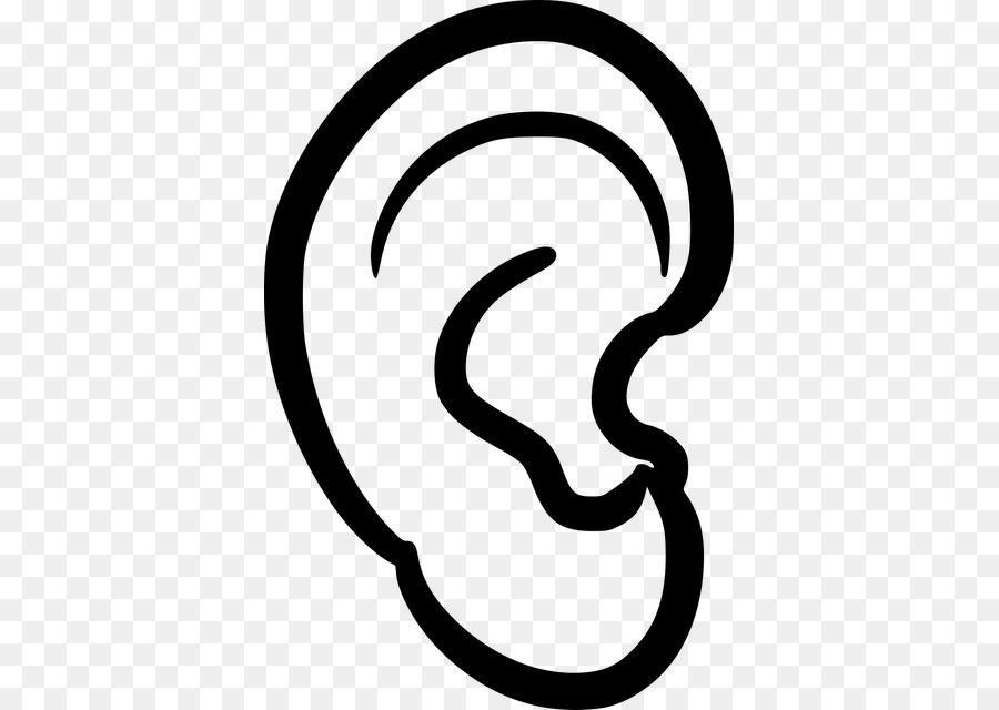 Hearing Clip Art Ear Png Download 423640 Free Transparent