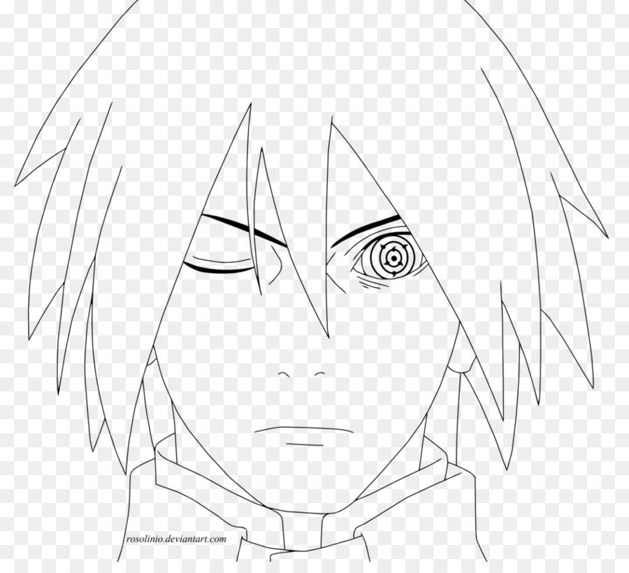 Sasuke Uchiha Línea de arte Kakashi Hatake Naruto Shippuden: Naruto ...