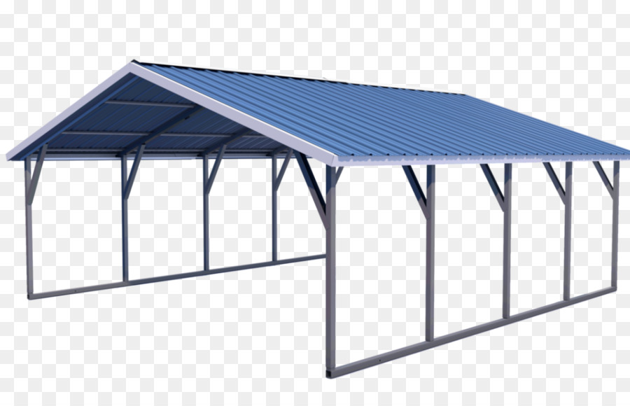 Roof Carport Metal Framing Garage - steel Roof png download - 1080 ...