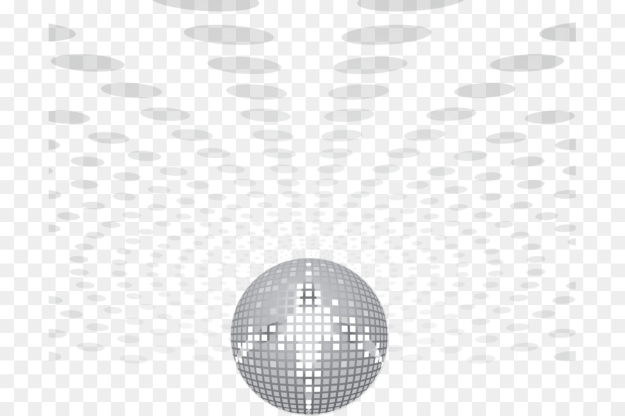 Disco Ball Light White Black And Png