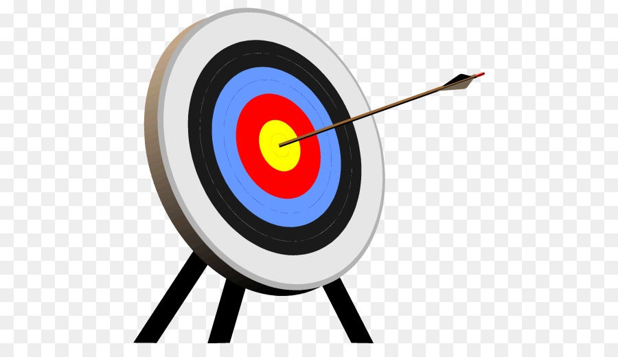 Target Bogenschießen Schießen Ziel Clipart Pfeil Png Herunterladen