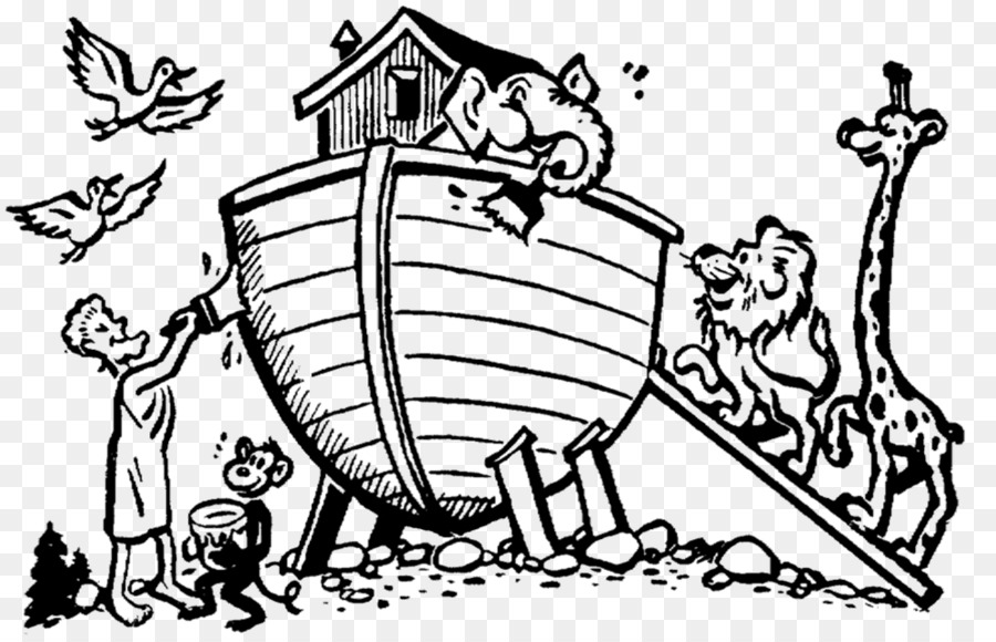 Bible Noah\'s Ark Coloring book Genesis Child - child png download ...
