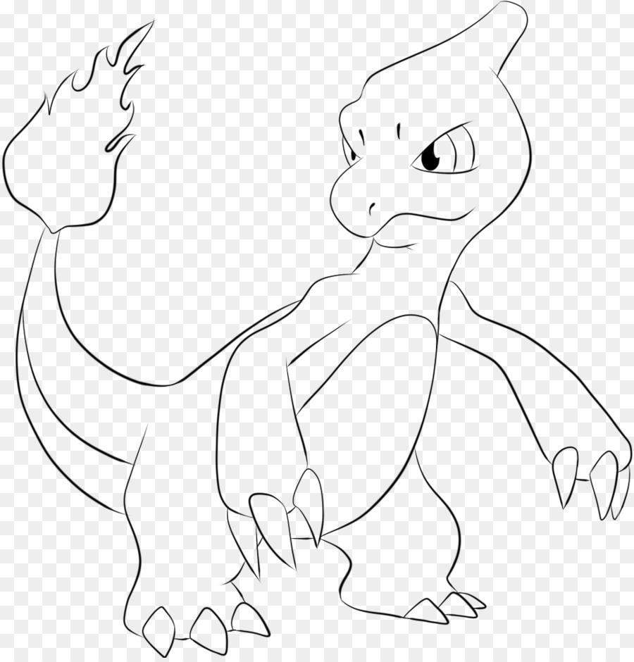 Charmeleon Disegno Da Colorare Di Pokemon Charmander Pokémon