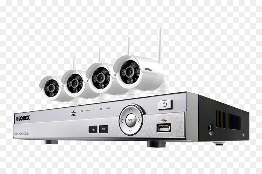 wireless security camera, digital video recorders, closedcircuit  television, technology, electronics png