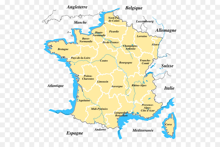 Brittany On Map Of France.Map Brittany Regions Of France Languedoc Roussillon Midi Pyrenees