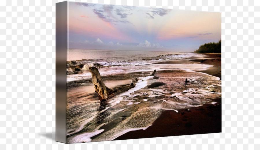 Driftwood fotografía de Stock Cielo plc - marco de madera a la ...