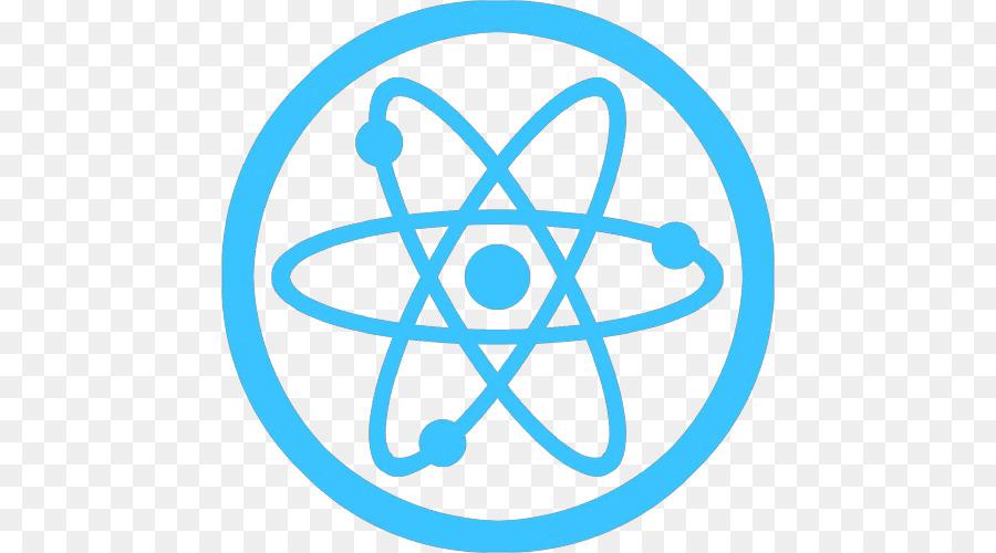 Atom Chemistry Symbol Nuclear Physics Symbol Png 500500