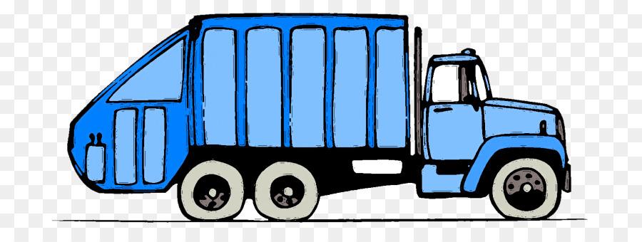 Pickup truck Garbage truck Waste Car Clip art - pickup truck png ...