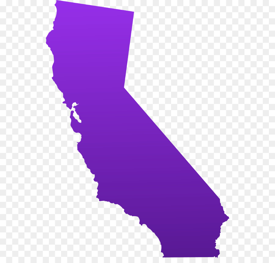 Purple State Map.California Map Clip Art Others 600 844 Transprent Png Free