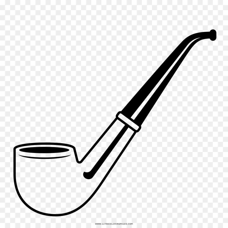 Pipa de tabaco Dibujo para Colorear libro - pipa png dibujo ...