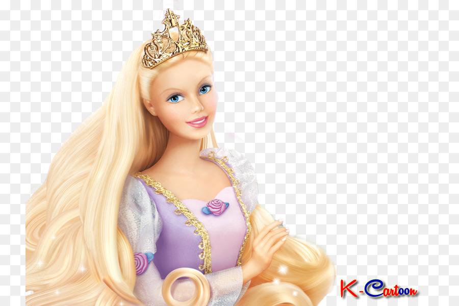 Barbie Als Rapunzel Casper Barbie Png Herunterladen 800600
