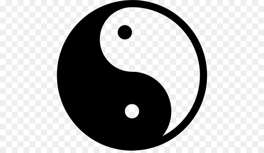 Yin And Yang Stencil Tai Chi Symbol Symbol Png Download 512512