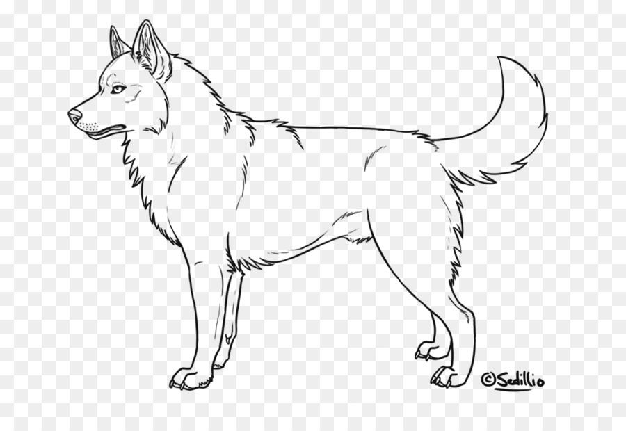 Husky siberiano Cachorro de Alaskan husky libro para Colorear ...