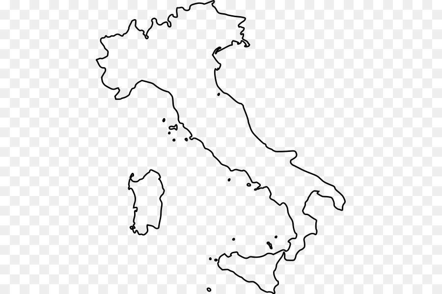 Las Regiones De Italia Mapa En Blanco De Lombardía Libro Para