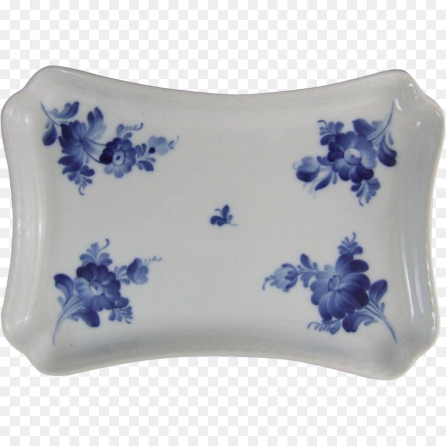 Blue And White Pottery Royal Copenhagen Porcelain Tableware Royal