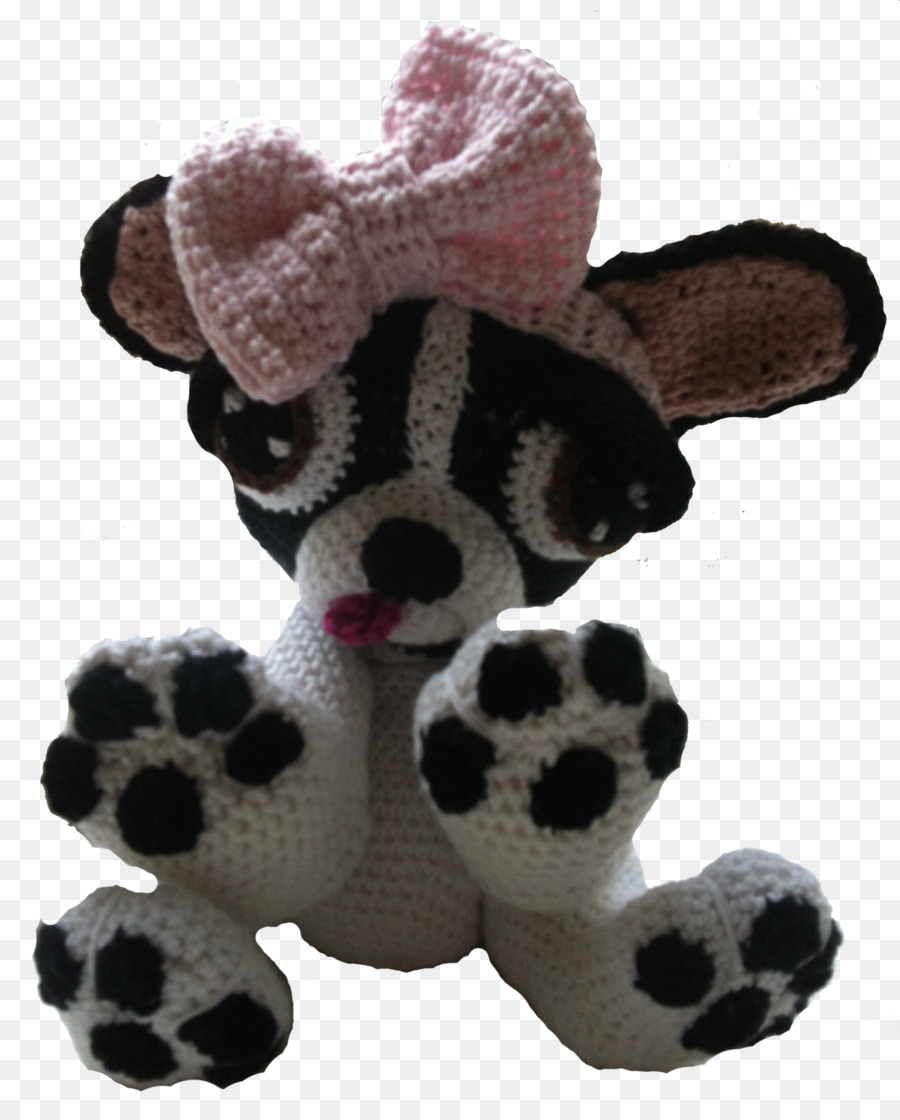 Stuffed Animals Cuddly Toys Amigurumi Crochet Boston Terrier