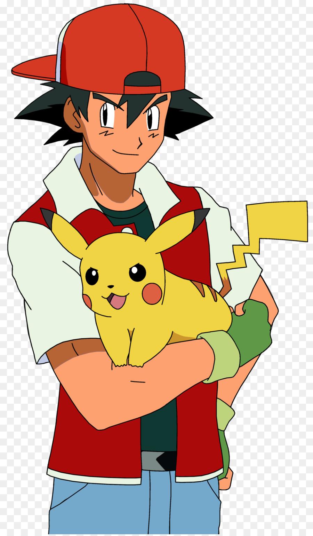 Ash Ketchum Seni Pokemon Clip Art Dewasa Unduh Pakaian Merah