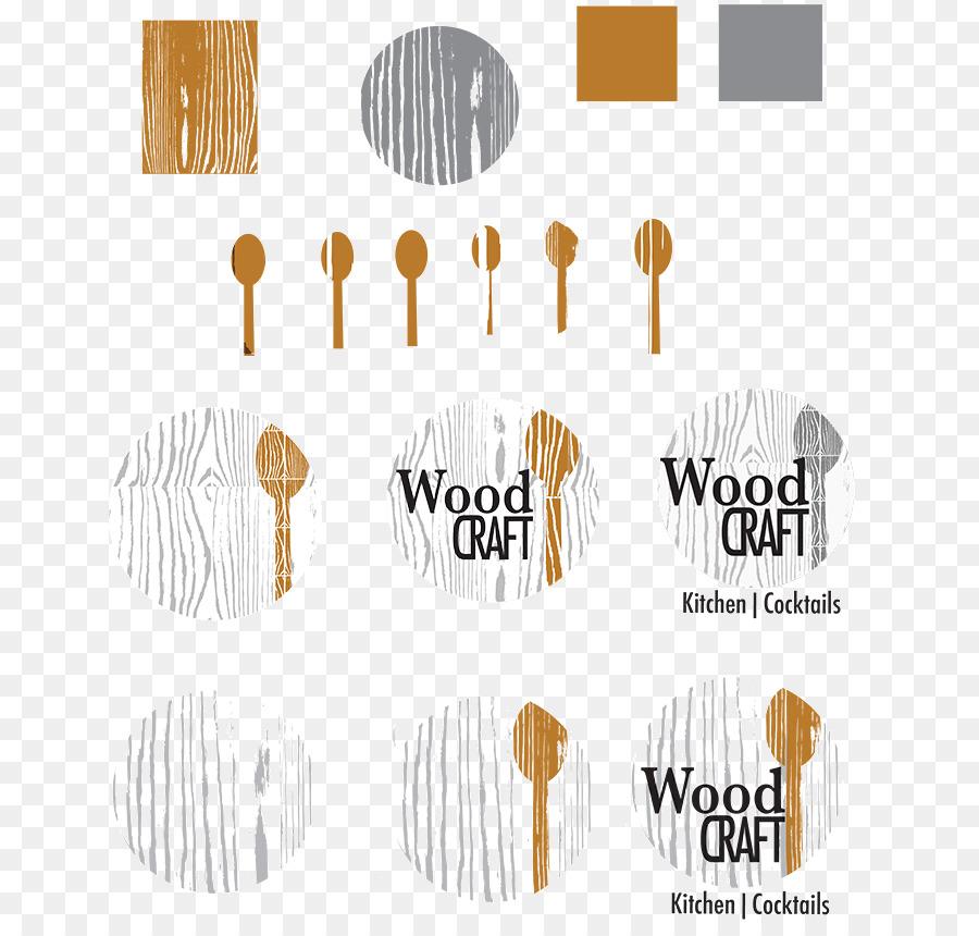 Logo Wood Grain Brand Paper