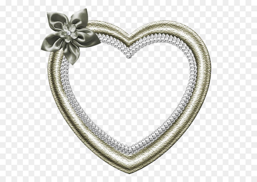 Picture Frames Heart Android Frame Glitter Png Download 625635