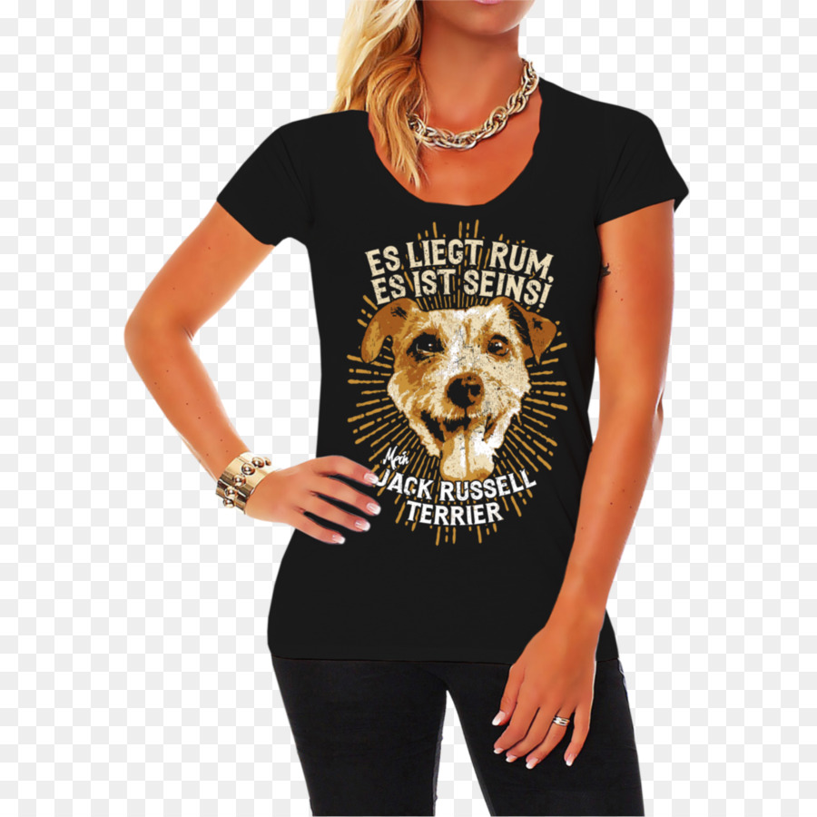 cbe37fbe T-shirt Neckline Clothing Top Sweater - jack russell terrier png download -  1300*1300 - Free Transparent Tshirt png Download.