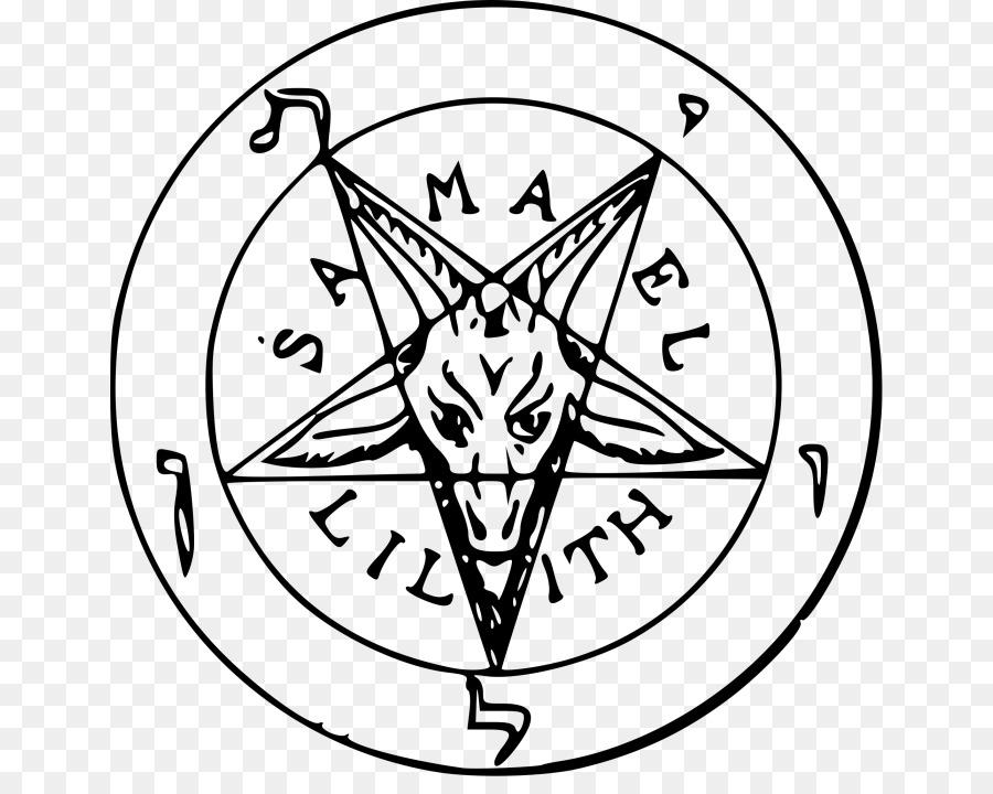 Sigil Of Baphomet Satanism Church Of Satan Symbol Png Download