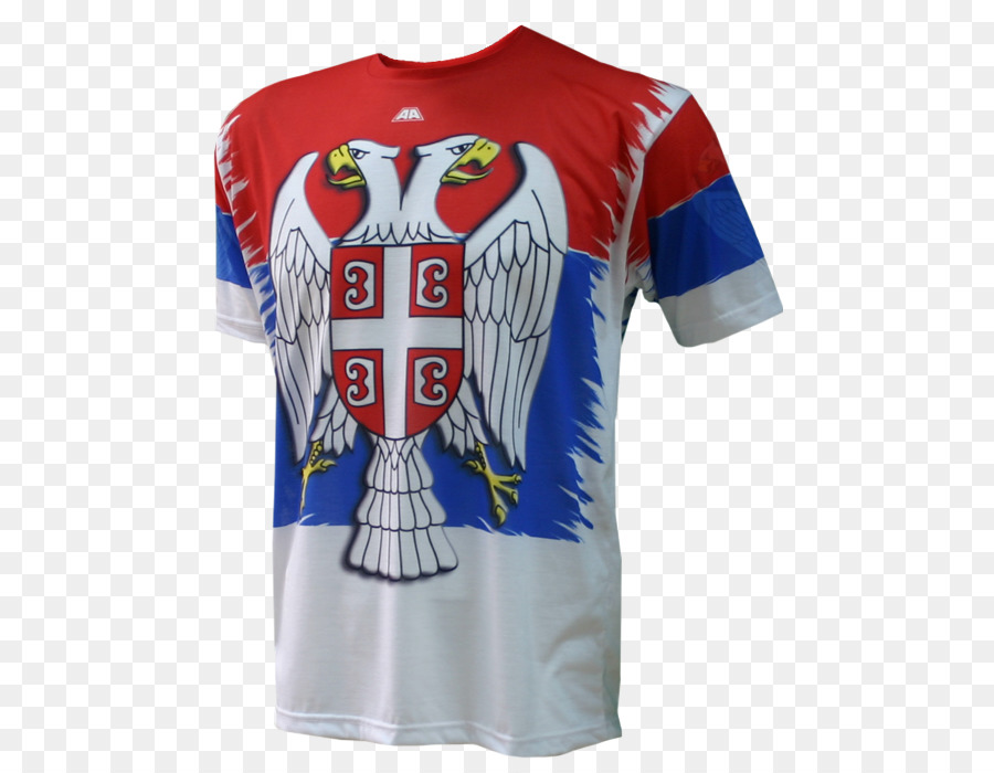 a3288c59b T-shirt Serbia national football team Sports Fan Jersey 2018 World Cup - T- shirt png download - 574 700 - Free Transparent Tshirt png Download.