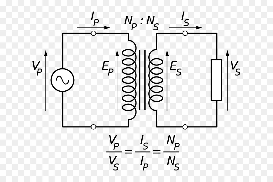 Transformer Equivalent Circuit Electrical Network Electronic Circuit