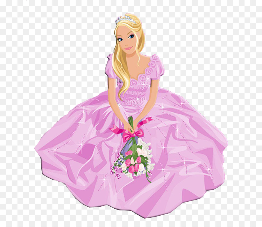 Barbie, Doll, Paper PNG