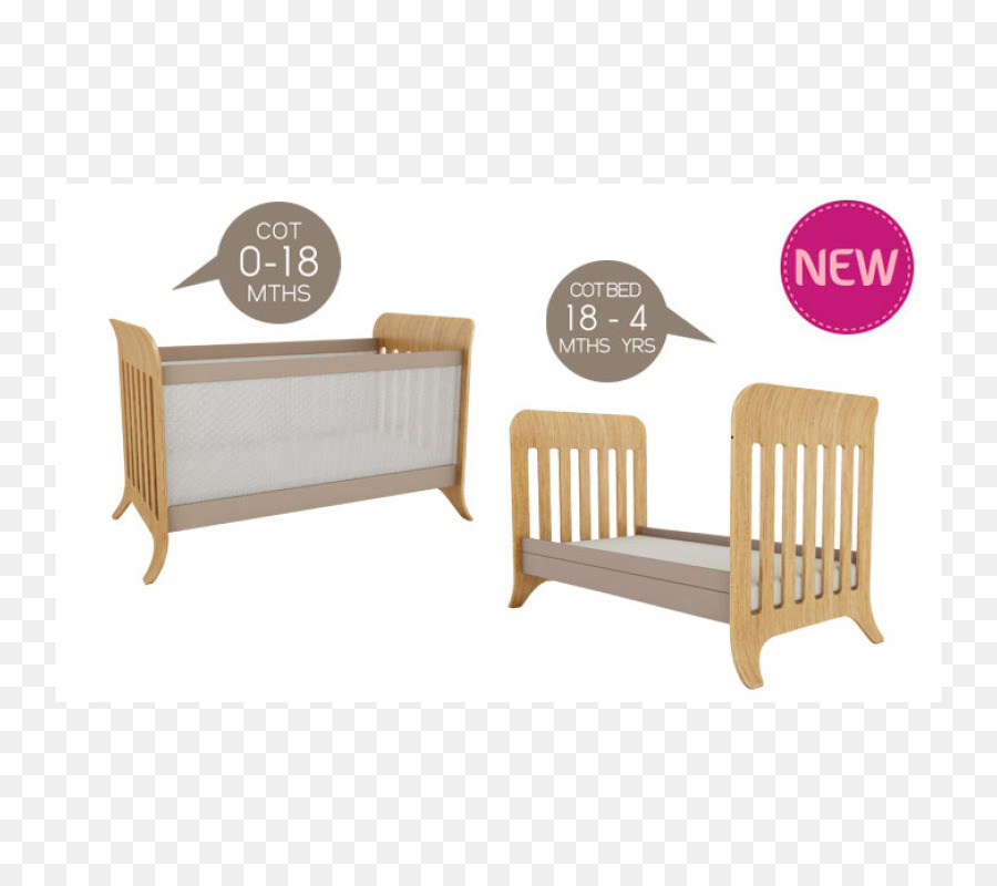 Bed frame Cots Infant Table - baby cot png download - 800*800 - Free ...