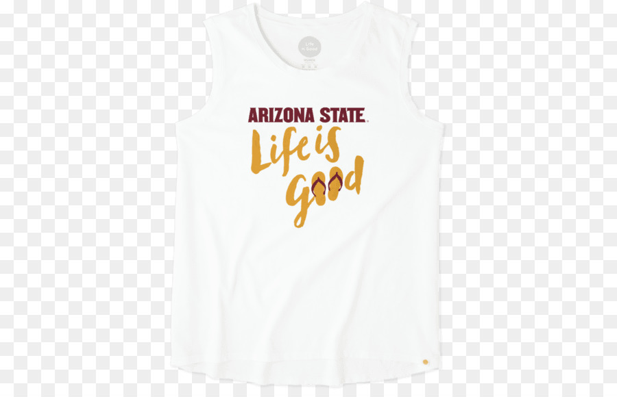 afe7d4a9f3 Tshirt, Arizona State University, Sleeveless Shirt, Clothing, White PNG