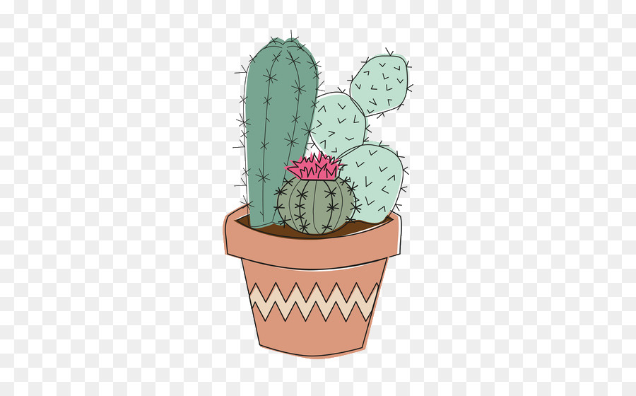 Cactaceae Tumblr Plant Drawing Funny Cactus Png Download 550 550