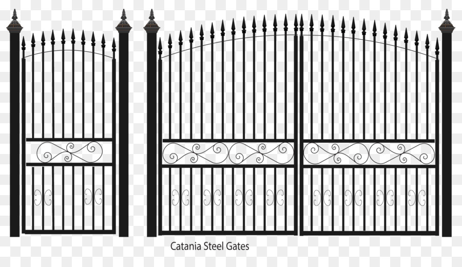 Fence Gate Wrought Iron Steel Sheet Metal   Fence