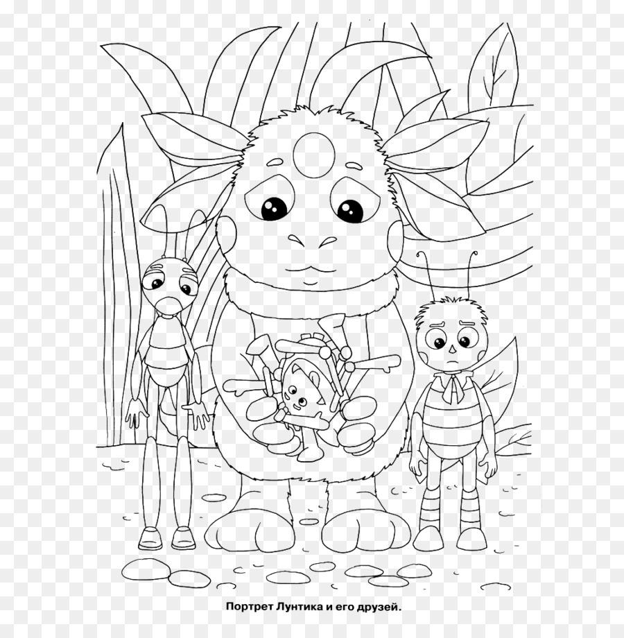 Hat Sanatı Boyama Kitabı çizgi Film Karakteri çizim Lun Png Indir