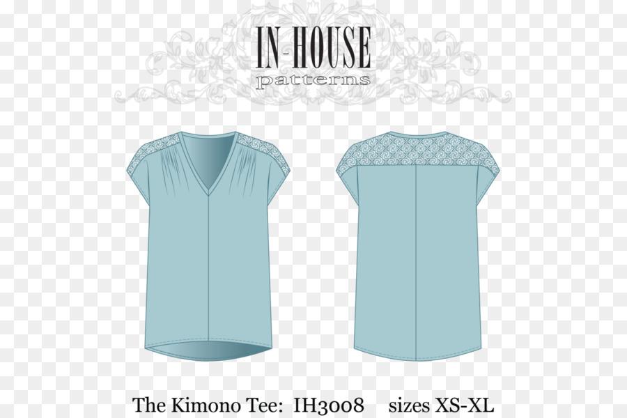 Blusa camiseta Kimono modelo de la Ropa - kimono patrón png dibujo ...