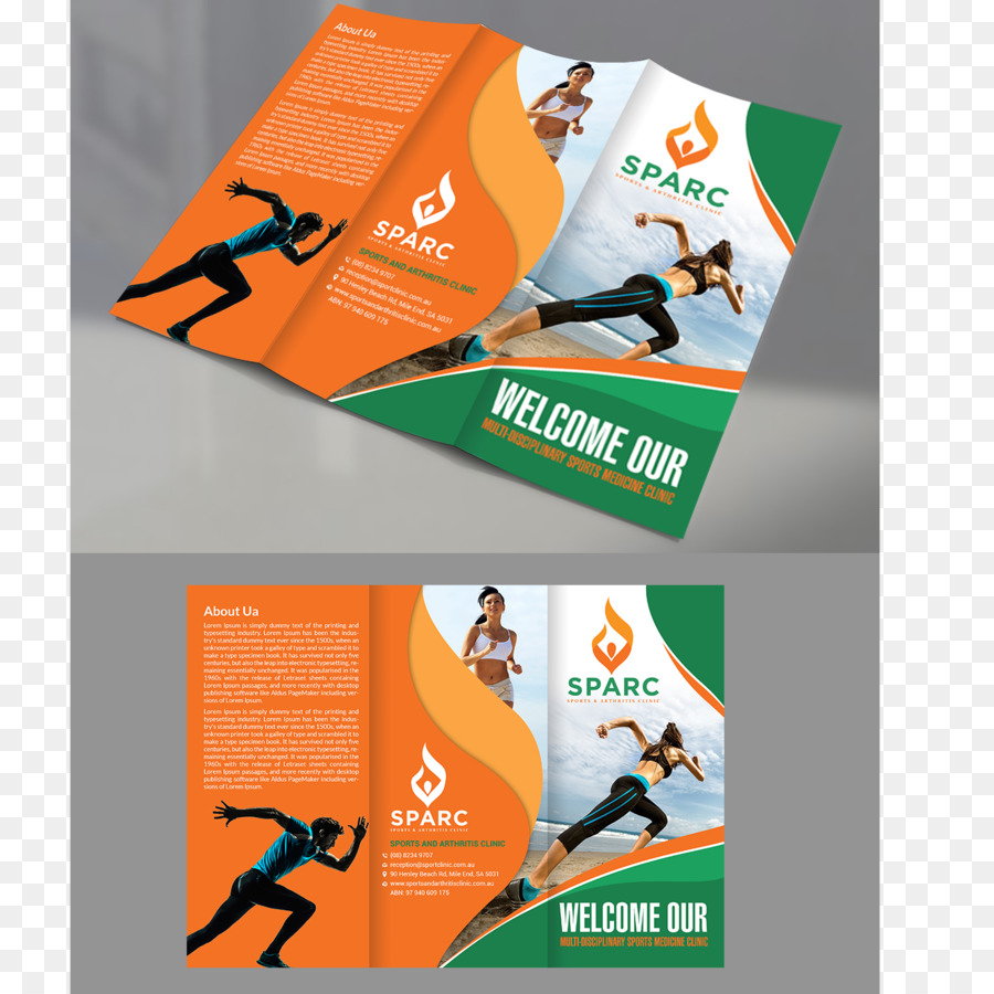 Brochure Advertising Sport Flyer - design png download - 1400*1400 ...